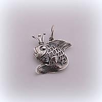 "Серебряный кулон ""Рыбка"", фото 1"
