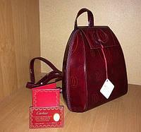 Стильный винтажный рюкзачок CARTIER