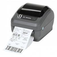 Принтер настольный печати этикеток и штрих-кодов Zebra gk 420 t, фото 1