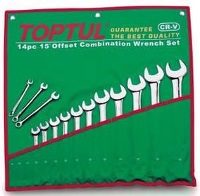 Набор ключей комбинированных 12 шт. 6-22 Toptul GAAA1213