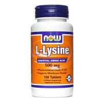 L-Lysine, 500 mg - 100 tablets