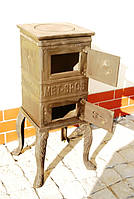 Печь буржуйка чугунная Каспер Met-Spos 6,5 кВт, фото 1