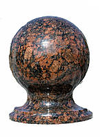 Гранитный шар D120mm цветной