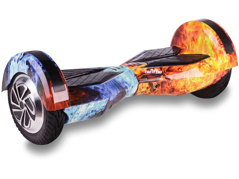 Гироборд TaoTao U6 APP - 8 дюймов с приложением и самобалансом Mix Fire (Огонь и лёд)