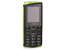 Мобильный телефон Sigma Comfort 50 Mini4 чёрно зелёный