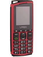 Мобильный телефон Sigma Comfort 50 Mini4 чёрный-оранжевый