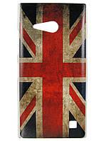 Чехол с рисунком для Nokia Lumia 730 Британский флаг