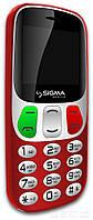 Телефон Sigma Comfort 50 Retro красный