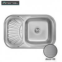 Кухонная мойка Imperial из нержавеющей стали HQ-TF 02 decor 08mm