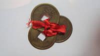 Монеты фен-шуй большие 3 штуки