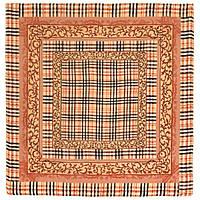 10552 10552-2, павлопосадский платок шерстяной (разреженная шерсть) с швом зиг-заг, фото 1