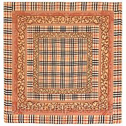 10552-2, павлопосадский платок шерстяной (разреженная шерсть) с швом зиг-заг