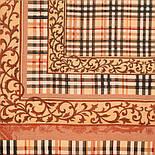 10552 10552-2, павлопосадский платок шерстяной (разреженная шерсть) с швом зиг-заг, фото 4