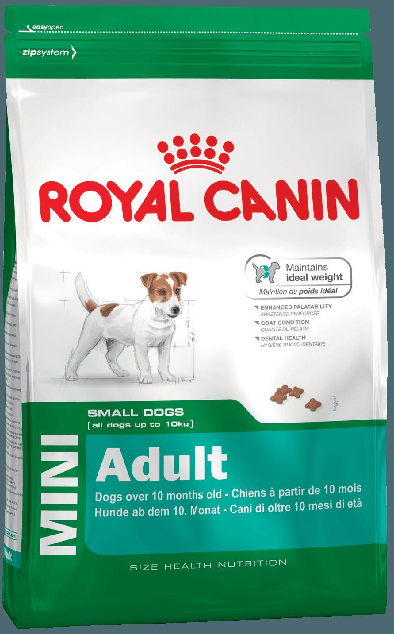 Сухий корм Royal Canin Adult Mini для собак дрібних порід старше 10 місяців 8 кг