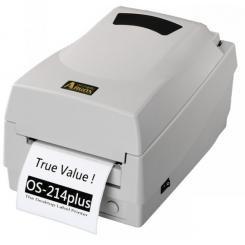 Принтер настольный печати этикеток и штрих-кодов Argox os 214 tt Plus