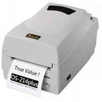 Принтер настольный печати этикеток и штрих-кодов Argox os 214 tt Plus, фото 1