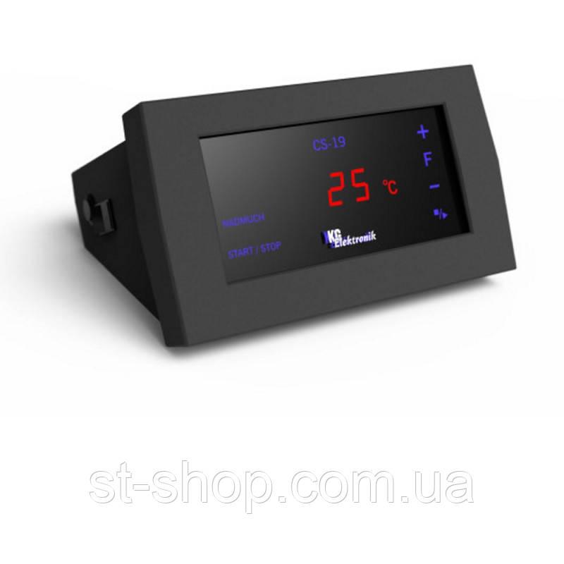 Контроллер для котла KG Electronik CS-19 (управл. вент+насос СО+насос ГВС)