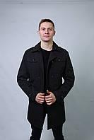 Плащ куртка мужской весенний осенний демисезонный  длинный классика