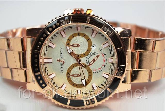 Копии мужских часов Ulysse Nardin U5220 в интернет-магазине Модная покупка