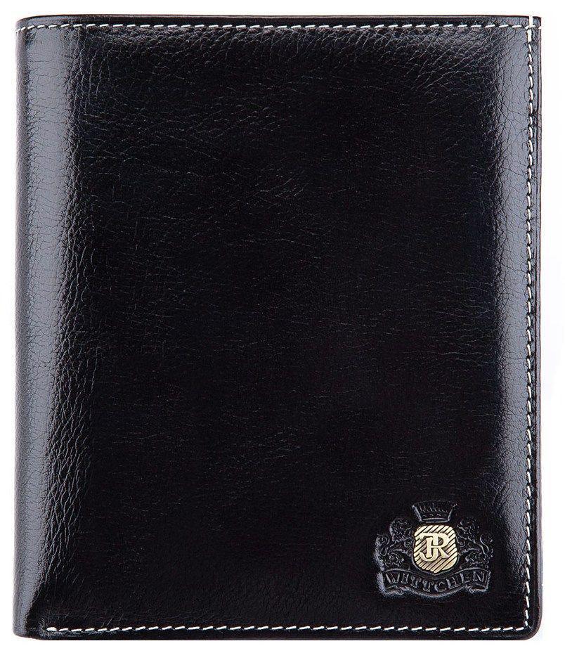 Элитное мужское портмоне кожа Wittchen, Черный