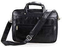 Горизонтальная мужская сумка для ноутбука 15,6 дюйма из натуральной кожи Vintage    14242