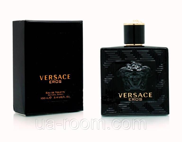 Versace Eros Black, мужская туалетная вода 100 мл.