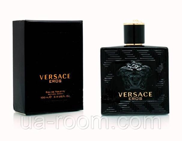 Versace Eros Black, мужская туалетная вода 100 мл., фото 2