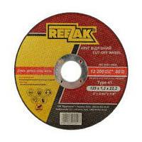 Круг отрезной по металлу 125х1,2х22,2мм T41, REEZAK