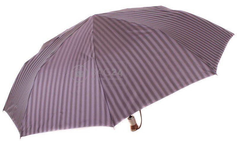 Элегантый мужской зонт, автомат ZEST  Z43933-2, Серый