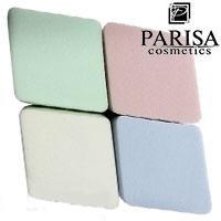 Parisa Спонж C-06 латекс мягкие ромбики цветные 4шт