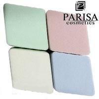 Parisa Спонж C-06 латекс мягкие ромбики цветные 4шт, фото 2