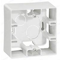 Рамка накладного монтажа 1-местная Белый ETIKA LEGRAND 672510