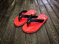 Мужские вьетнамки Nike красные / вьетнамки мужские Найк