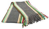 Серый мужской шерстяной шарф ETERNO ES3016-5, Серый