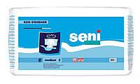 """Подгузники для взрослых """"Seni Standard 6 кап."""" 30 шт.  р-р medium (2) 75-110 см"""