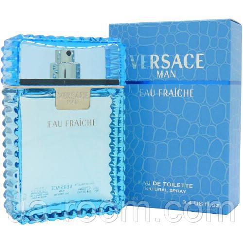 Versace Man Eau Fraiche, мужская туалетная вода 100 мл.