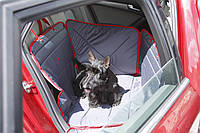 ТрендБай Гамак для перевозки собак в автомобиле ТрендБай 3053 Доггин серый