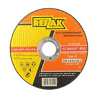 Круг шліфувальний по металу, 125х6,0х22,2, T41 REEZAK