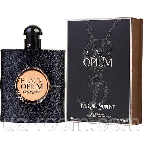 Yves Saint Laurent Black Opium,женская парфюмированная вода 90 мл., фото 2