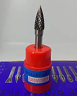 Борфреза сводчатая остроносая  (GX) 8х17х6 твердосплавная
