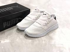 Мужские кроссовки Puma Tsugi белые топ реплика