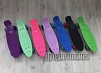 Пенниборд Скейтборд пенни пени борд Penny Board со светящимися колесами
