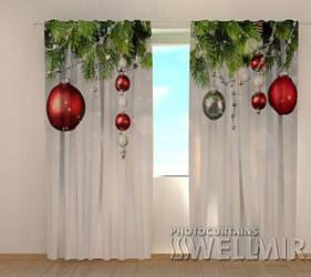 Фотошторы Рождественские украшения