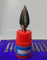 Борфреза склепінчаста гостроноса (GX) 14х25х6 твердосплавна