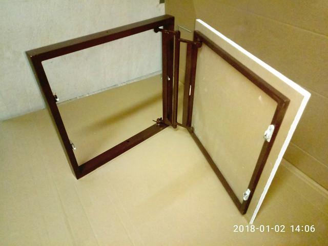 Регулюємий люк під плитку 50х45(н) см