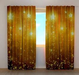 Фото шторы Новогодняя