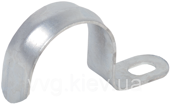 Скоба металлическая однолапковая d14-15мм IEK