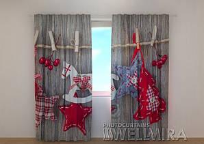Фото шторы Новогодняя 2