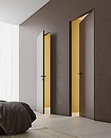 Скрытые межкомнатные двери в интрере