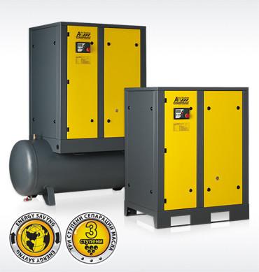 Гвинтові компресори серії AirStation продуктивністю до 2,3 м3/хв